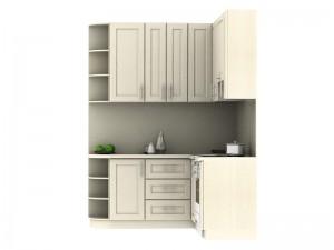 Кухня угловая(бежевая) - фото №3