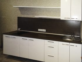 Кухня прямая - фото №9