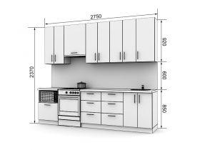 Кухня с размерами — проекты - фото №3