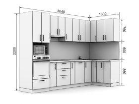 Кухня с размерами — проекты - фото №10